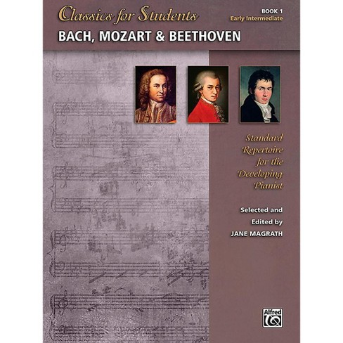 Alfred Classics for Students: Bach, Mozart & Beethoven, Book 1 - Early Intermediate - image 1 of 1