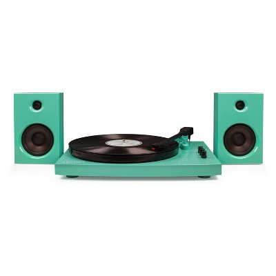 Crosley T100 Turntable System - Turquoise