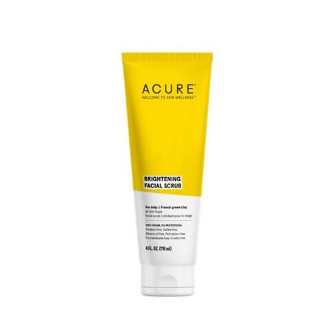 Acure Brightening Facial Scrub - 4 fl oz - image 1 of 4