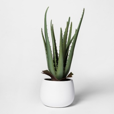 Faux Plant in White Pot - Project 62™