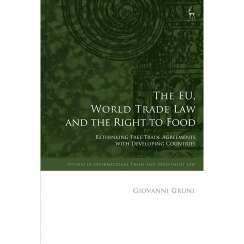 Eu World Trade Law And The Right To Food Rethinking Free Trade