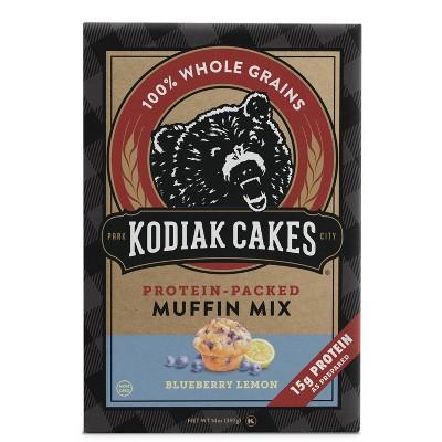 Kodiak Cakes Protein Packed Muffin Mix Blueberry Lemon - 14oz