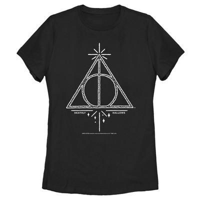 Women's Harry Potter Deathly Hallows Symbol T-Shirt
