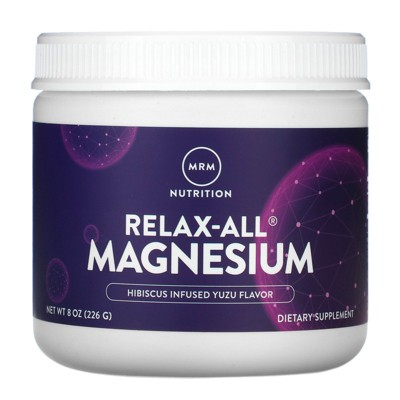MRM Relax-All Magnesium Powder, Dietary Supplements
