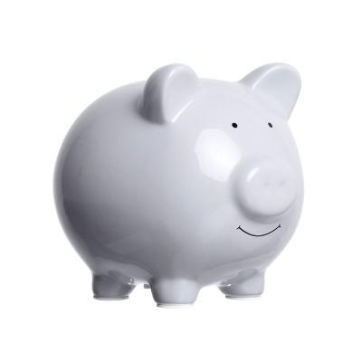 Pearhead Piggy Bank - Gray