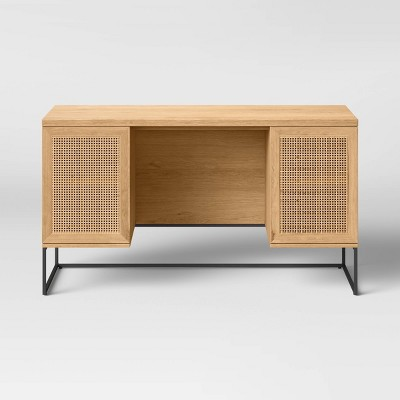 Belmar Executive Desk with Storage Natural - Project 62™