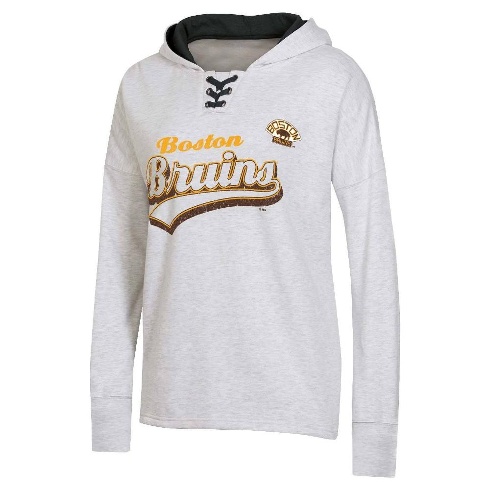 Nhl Boston Bruins Women 39 S Long Sleeve Vintage Hoodie S