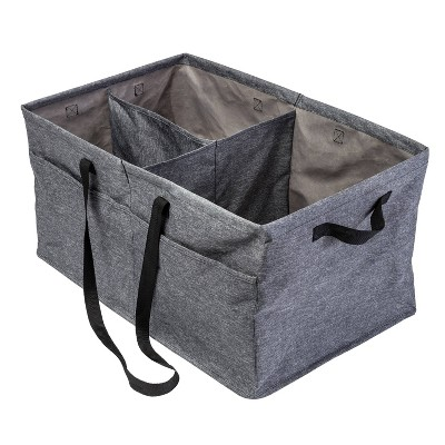 Honey-Can-Do Large Trunk Organizer Gray