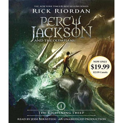 The Lightning Thief ( Percy Jackson) (Unabridged) (Compact Disc) by Rick Riordan - image 1 of 1