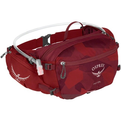 Osprey Seral Lumbar Hydration Pack: Molten Red, Includes 1.5L Reservoir - image 1 of 9