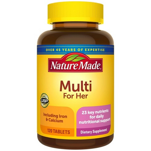 Nature Made Women's Multivitamin Tablets - 120ct - image 1 of 4