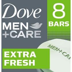 Dove Men+Care Extra Fresh Invigorating Body & Face Bar - 8ct/4oz