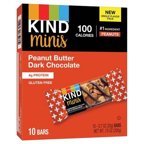 KIND Minis Peanut Butter Dark Chocolate - 10ct - image 1 of 4