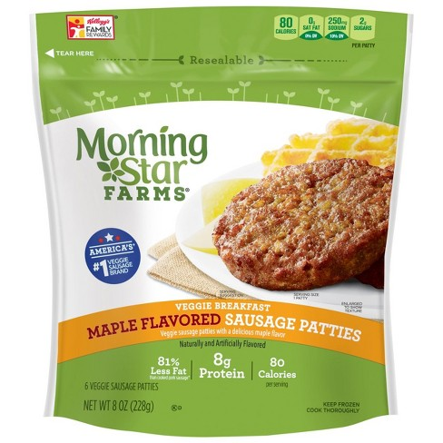 MorningStar Farms Maple Flavored Veggie Sausage Patties - 8oz - image 1 of 3