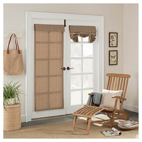 Key Largo Indooroutdoor French Door Blackout Curtain Panel 26x68