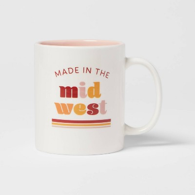 15oz Stoneware Made In The Midwest Mug - Room Essentials™