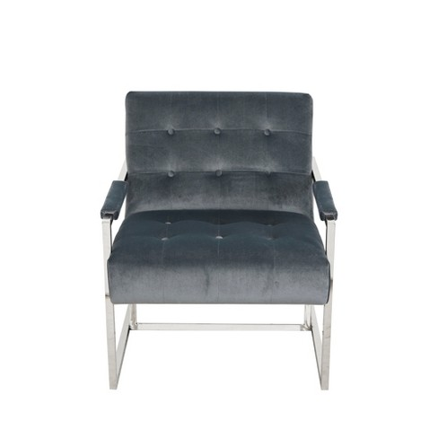 Declan Accent Chair Blue - image 1 of 7