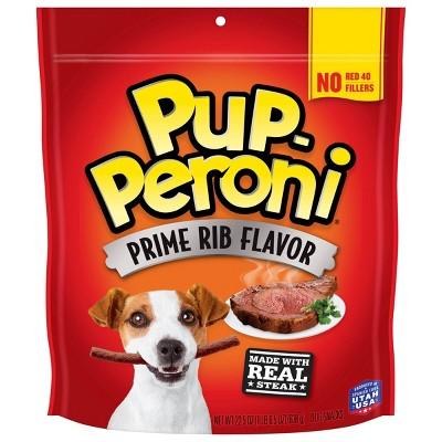 PupDog Treats Peroni Beef Prime Rib Flavor Dog Treats - 22.5oz