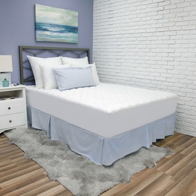 SensorPEDIC Luxury Ultra Loft Gel Microfiber Mattress Pad