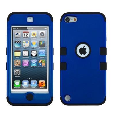 MYBAT For Apple iPod Touch 5th Gen/6th Gen Dark Blue Black Tuff Hard Hybrid Case