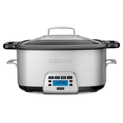 Cuisinart 7qt Electric Multi-Cooker - Stainless Steel - MSC-800