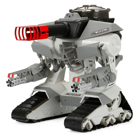 "New Bright Radio Control RC FF 12.8V M.E.C.H Grey & Black Robo Cannon 15.25"" - image 1 of 2"