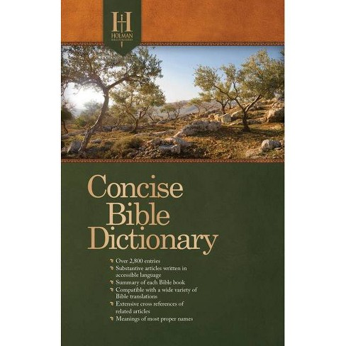 Holman Concise Bible Dictionary - (Paperback) - image 1 of 1