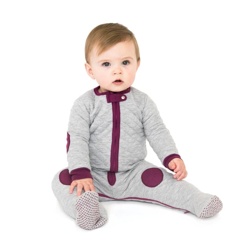 Swaddle Wrap Baby Deedee Gray Mauve