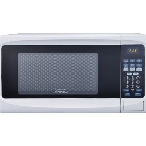Sunbeam 0.7cu. ft. 700 Watt Digital Microwave Oven White - SGS10701
