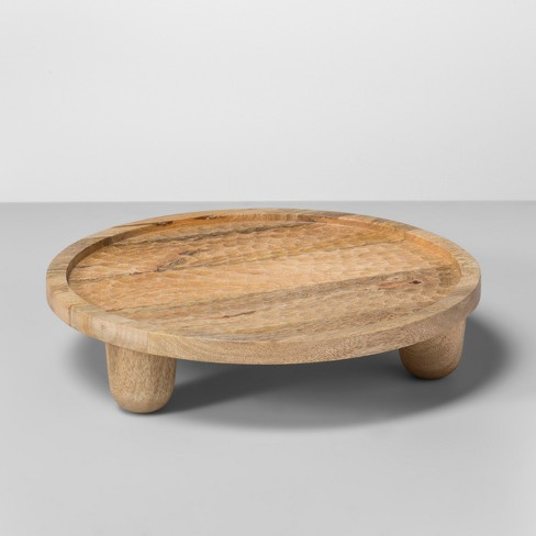 Mango Wood Carved Tray - Opalhouse™ - image 1 of 3
