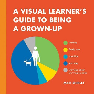 A Visual Learner's Guide to Being a Grown-Up - by  Matt Shirley (Hardcover)
