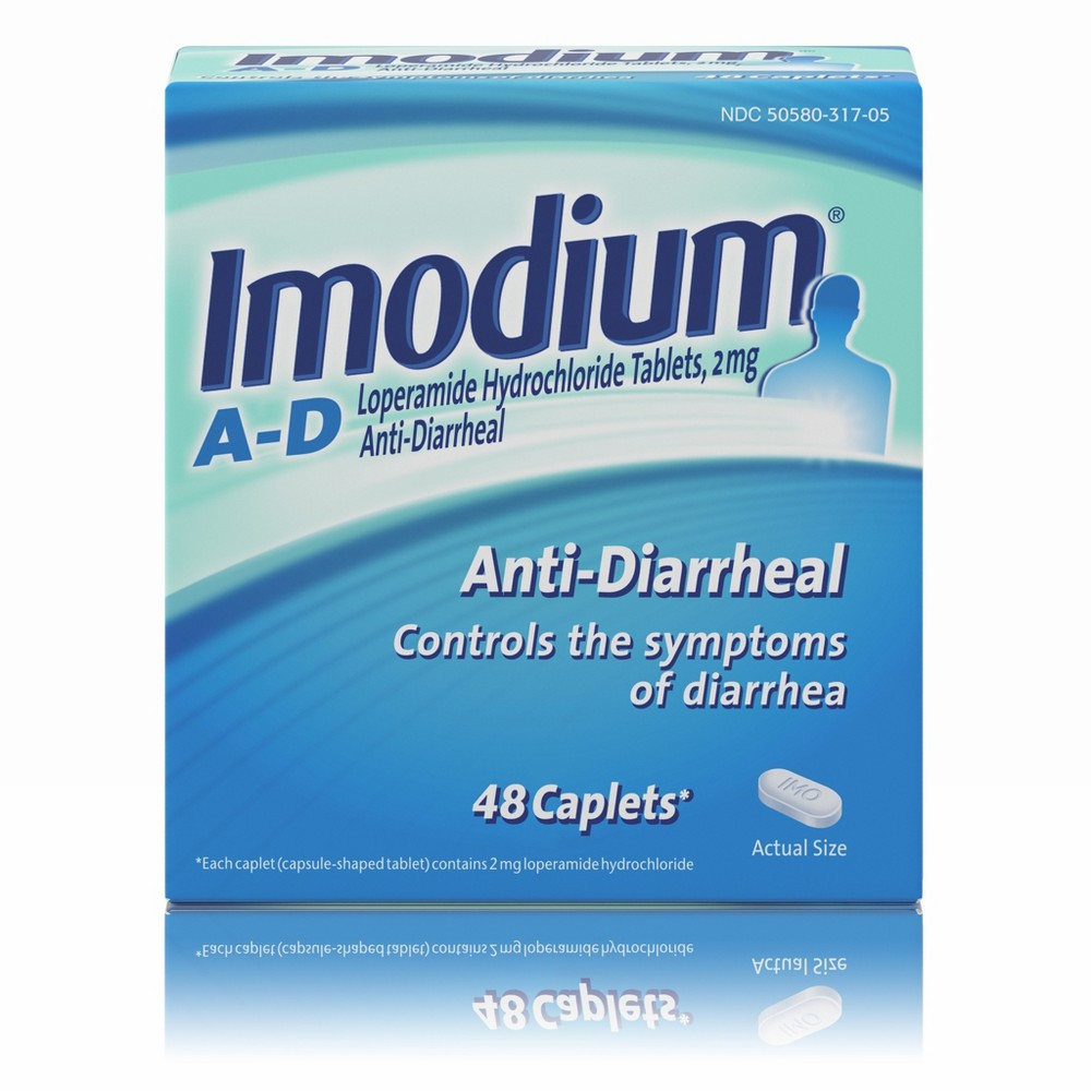 Imodium A-D Anti-Diarrheal Caplets - 48ct