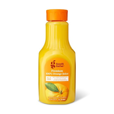 Pulp Free 100% Orange Juice Not From Concentrate - 52 fl oz - Good & Gather™