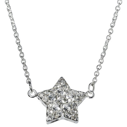 Star Pendant Crystal Necklace - image 1 of 2