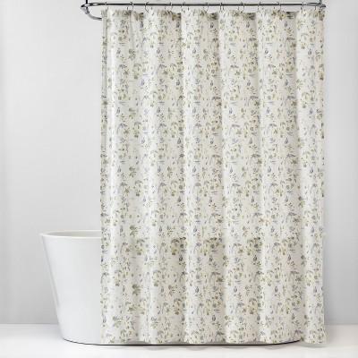 Wing Print Cotton Shower Curtain White - Threshold™