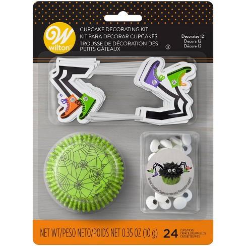 Wilton 24pc Halloween Spider Cupcake Decorating Kit - image 1 of 3