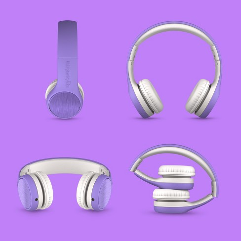 LilGadgets Connect+ STYLE Kids Wired Headphones - Purple - image 1 of 7