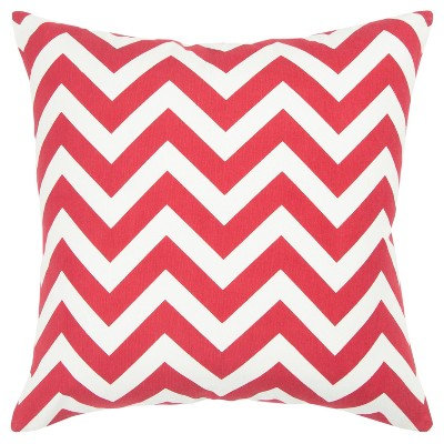 """18""""x18"""" Poly Filled Chevron Square Throw Pillow - Rizzy Home"""