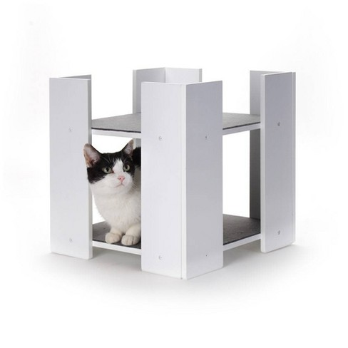 Hauspanther Cubitat Cat Bed - White By Primetime Petz - image 1 of 4
