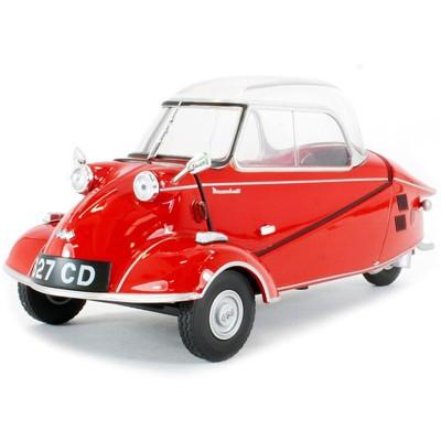 Messerschmitt KR200 Bubble Car Sardinian Red 1/18 Diecast Model Car by Oxford Diecast