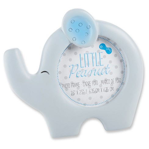 12ct Kate Aspen Little Peanut Elephant Photo Frame (Blue) - image 1 of 1