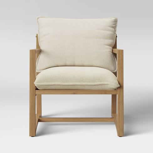 Higgins Sling Armchair Natural - Threshold™ - image 1 of 4