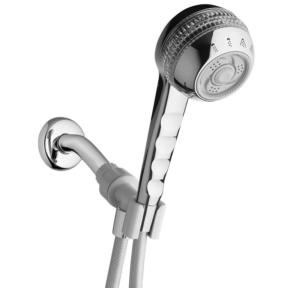 Original Shower Massage Hand Held Shower Head 4 Mode Chrome Waterpik