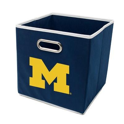 """NCAA Michigan Wolverines 11"""" Storage Bin"""