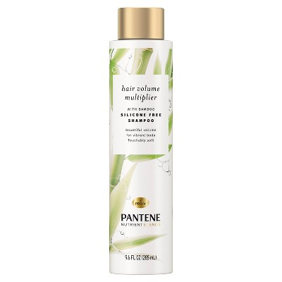 Pantene Nutrient Blends Hair Volume Multiplier with Bamboo Shampoo For Fine Hair - 17.9 fl oz