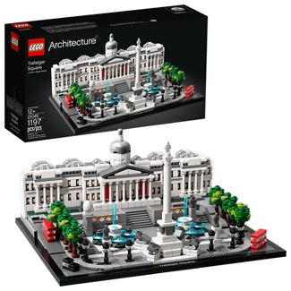 LEGO Architecture Trafalgar Square Model Set for Adults and Kids, Architecture Gift 21045