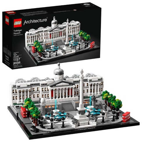 LEGO Architecture Trafalgar Square Model Set for Adults and Kids, Architecture Gift 21045 - image 1 of 4