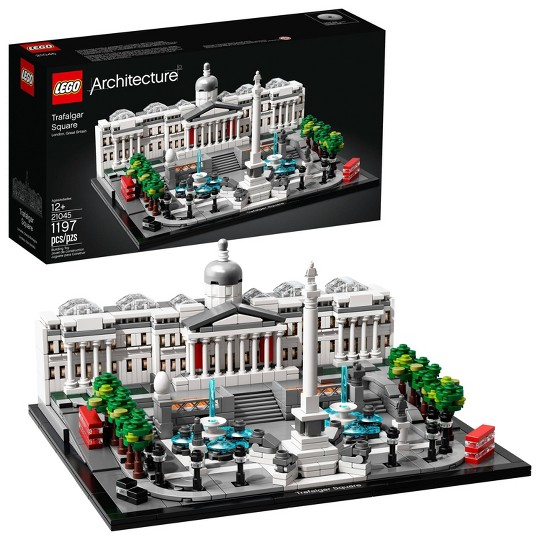 LEGO Architecture Trafalgar Square 21045 Model Set for Adults and Kids, Architecture Gift 1197pc, Adult Unisex image number null