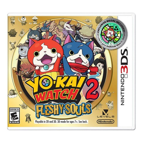 Yo-Kai Watch 2: Fleshy Souls - Nintendo 3DS - Email Delivery - image 1 of 1