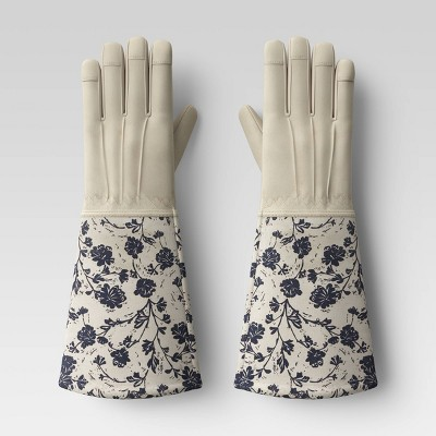 Roepickers Work Gloves Blue Floral - Smith & Hawken™